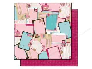 Bo Bunny Paper 12x12 Sweet Tooth Recipes (25 sheets)