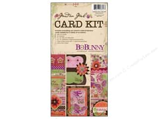 Chipboard Shapes  Flowers: Bo Bunny Card Kit Garden Girl