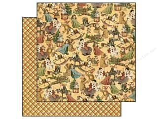 Graphic 45 Paper 12x12 Christmas Emporium Toyland (25 sheets)