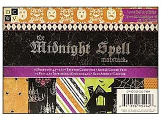 DieCuts Printed Mat Stack 6.5x4.5 Midnight Spell