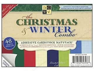 DieCuts Adhesive Mat Stack 6.5x4.5 Christmas&amp;Wintr
