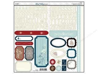 SEI Sticker Cardstock Silver Valley