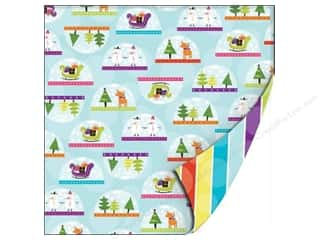 SEI Paper 12x12 DS Holiday Cheer Gltr Shake It Up (25 sheets)