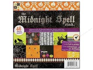 DieCuts Paper Stack 8x8 Print Midnight Spell