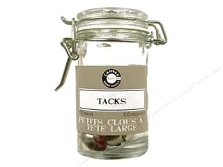 Canvas Corp Tack Hardware Jar 100 pc. Silver