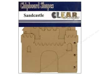 Clear Scraps Album Chip 7x9 Sandcastle