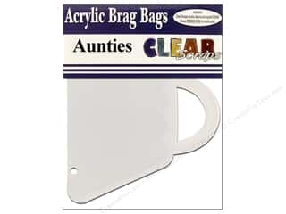 Paper Pieces Clear: Clear Scraps Clear Brag Bag Album Aunties