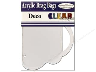 Clear Scraps Album Brag Bag Clear Deco