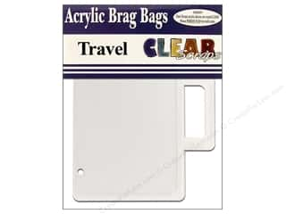 Clear Scraps Album Brag Bag Clear Travel
