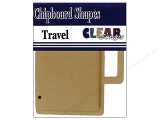 Chipboard Albums: Clear Scraps Album Brag Bag Chip Travel