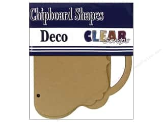 Chipboard Albums: Clear Scraps Chipboard Brag Bag Album Deco