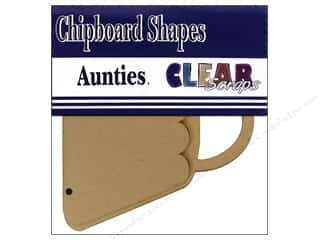 Clear Scraps Chipboard Brag Bag Album Auntie