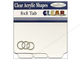 Clear Scraps Clear Album 8 x 8 in. Tab
