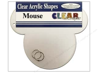 Clear Scraps Album Clear 9x9.5 Mouse