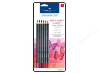 FaberCastell MM Art Grip Color Pencil Set Red