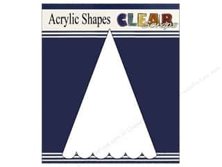Acrylic Sheets: Clear Scraps Clear Banners 5 pc. Small
