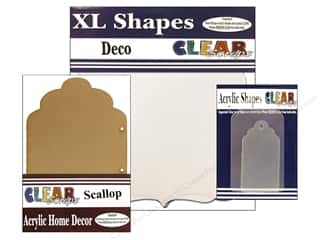 Clear Scraps Shapes