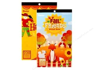 Darice Sticker Book Harvest/Fall Assorted
