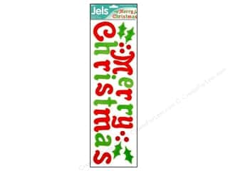 Holiday Sale: Darice Window Jels 24 pc. Merry Christmas