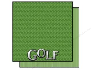 Scrappin Sports Paper 12x12 Title Sports Golf (25 sheets)