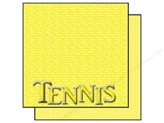 Scrappin Sports Paper 12x12 Title Sports Tennis (25 sheets)