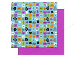 Doodlebug Paper 12 x 12 in. Monster Chat (25 sheets)
