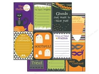 Scrapbooking &amp; Paper Crafts  Designer Papers &amp; Cardstock  Halloween: Bazzill Paper 12x12 Spooky &amp; Kooky Vertical