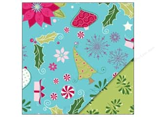 Holiday Sale Designer Papers &amp; Cardstock: Bazzill Paper 12x12 Merry Mix/Mistletoe Kisses