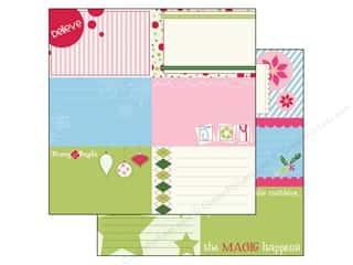 Clearance Bazzill Lickety Slip Journaling Cards: Bazzill 12 x 12 in. Paper Lickety Slip Holiday Style Horizontal 25 pc.