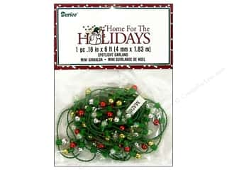 Darice Holiday Bead Garland Spotlight Multi 6ft