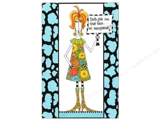 black ink pad: Pictura Purse Pad Dolly Mama Foil Menopausal