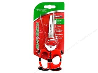 Westcott Scissor Wrap &amp; Ribbon 5&quot; Santa