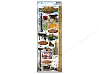 Paper House Sticker Cardstock Washington State