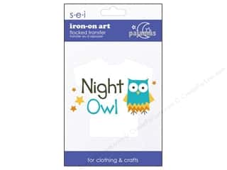 SEI Iron On Art Night Owl