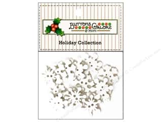Buttons Novelty Buttons: Buttons Galore Theme Buttons Snowflakes