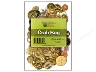 Buttons Galore & More Christmas: Buttons Galore Grab Bag 6 oz. Fancy Gold