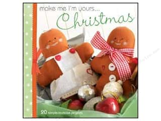 Doll Making Clearance Books: David & Charles Make Me I'm Yours Christmas Book