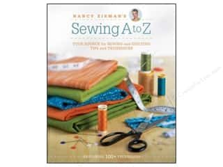 Nancy Zieman's Sewing From A To Z Book