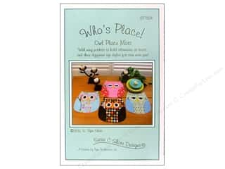 Susie C Shore Designs $2 - $5: Susie C Shore Who's Place Pattern