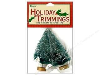 "Darice Holiday Sisal Christmas Tree 3"" w/Frost2pc"