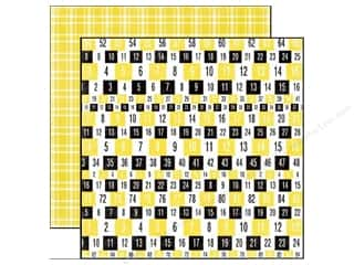 Echo Park 12 x 12 in. Paper Happy Days Numbers (25 sheets)