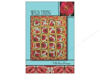Favorite Things Clearance Patterns: Villa Rosa Designs Wild Thing Pattern