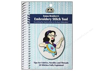 DMC Books & Patterns: DMC Emma Broidery's Embroidery Stitch Tool Book