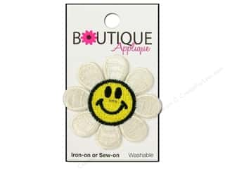 Blumenthal Applique Boutique Smiley Face Daisy