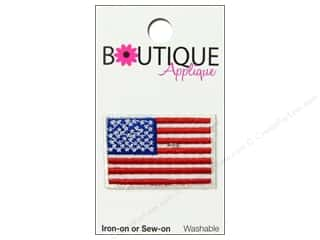 Blumenthal Boutique Applique 1 1/2 in. American Flag