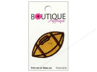 Blumenthal Applique Boutique Brown Football
