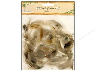 "Midwest Design Imports 14"": Midwest Design Feather Domestic Goose Natural 6gm"