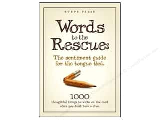 Anniversaries Books & Patterns: Words To The Rescue Book