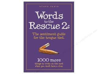 Anniversaries Books & Patterns: Words To The Rescue 2 Book