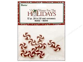 Darice Holiday Decor Claydough Ppprmint 10mm 12pc